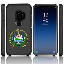 For Samsung Galaxy S9 S9+ Shockproof Hard Case El Salvador Escudo Coat Of Arms