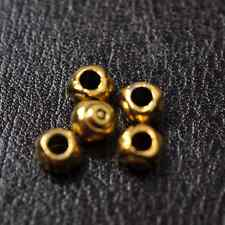50pcs Tibetan Silver Gold Bronze, Charms Nice Spacer Bead 5x4MM CW113