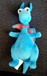 "Disney Doc McStuffins Stuffy Blue Dragon 10"" Plush Stuffed Toy Just Play"