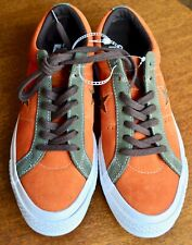 Converse One Star Pro Ox Orange Green White Casual Skating Shoes 161617C Size 8