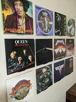 Vinyl Album Wall Display | Vinyl record wall mount display | Record shelf
