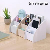 Plastic Storage Box Desk Table Organizer Box Stationery/Makeup Office Small Case