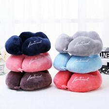 Soft U Shaped Pillow Comfortable Neck Support Memory Foam Cushion Travel