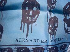 Alexander McQueen Dripping Skull Silk Scarf 104 x 120 CM