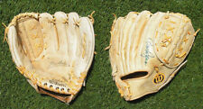 Vintage Detroit Tigers Autographed Baseball Glove, Gates Brown + 2 Others, Nice!