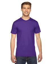 American Apparel Mens Fine Jersey Short Sleeve T-Shirt XS-3XL 2001