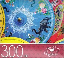 "Jigsaw Puzzle PAPER PARASOLS 300 Pcs 14"" x 11"" Cardinal"
