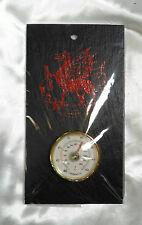 """Welsh dragon rouge wall hanging thermomètre welsh ardoise 7 x 4"""" cadeau souvenir"""