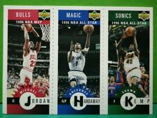 Jordan/Hardaway/Kemp card 96-97 Collectors Choice