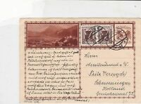 austria 1931  stamps card ref 20943