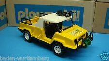 Playmobil 3189 safari series 3528 jeep truck with wheel color yellow toy 159