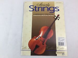 Strictly Strings - Cello - Book 2 - 4396 - Comprehensive String Method - (A)