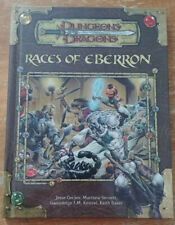 Dungeons & Dragons 3.5 - Races of Eberron (2005, first print) (NM)