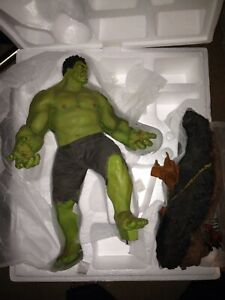 SIDESHOW  THE HULK  MAQUETTE AVENGERS LEGACY EFFECTS
