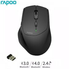 Rapoo Mini Wireless Mouse Small Bluetooth Mobile Laser Mice For PC Laptop MT550