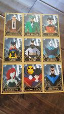 2016 SDCC COMIC CON EXCLUSIVE DC BATMAN PROMO CARD SET OF 9 ROBIN RIDDLER FREEZE