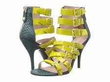 Vivienne Westwood Millie lime petrol sandals US 9 b Euro 39