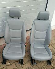 BMW E90 E91 Fahrer Sitz VORNE LINKS  Leder Dakota grau Airbag