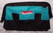 "Makita 831253-8 Contractor Tool Bag Teal Black 14"""