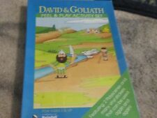 David & Goliath NEW Religious peel & play actitivy set 3 and up play scenes NEW
