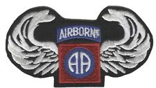 82nd Airborne with Wings Patch Iron On Patch USA SHIPPER