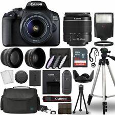 Canon EOS 2000D / Rebel T7 Digital SLR Camera Body w/Canon EF-S 18-55mm f/3.5-5.
