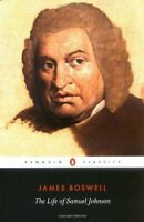 The Life of Samuel Johnson (English Library) by Boswell, James Paperback Book