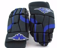 "Mission Hockey Soldier Senior Protective Ice/Roller Hockey Glove 15"" Blk/Blue"