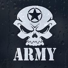 Estrellas del ejército de munición cráneo Infinito Marine Coche Decal Pegatina De Vinilo Para Ventana De Parachoques