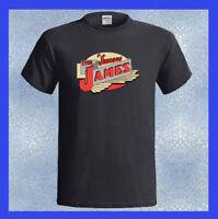 James Cycle Logo THE FAMOUS JAMES Motorcycle NEW Men's T-Shirt S M L XL 2XL 3XL