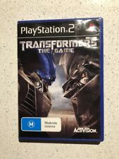 PS3 Transformers The Game (M) Pal Includes Manual Free Postage