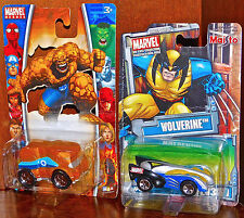Maisto Marvel Universe Die-Cast Collection Wolverine THING LOT 2 NEW SEALED CARS