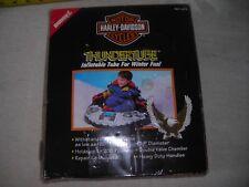 HARLEY DAVIDSON THUNDERTUBE INFLATABLE TUBE FOR POOL OR SNOW, HEAVY DUTY BUDDY L