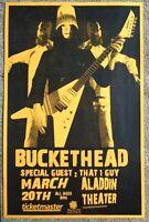 BUCKETHEAD Gig POSTER March 2008 Portland Oregon Concert