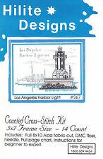 Cross Stitch Kit ~ Historic Lighthouse Los Angeles Harbor Light #HD267 OOP SALE!