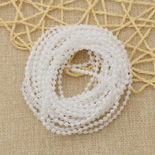 ABS Plastic Imitation Pearl Beads String DIY Wedding Decoration Handcraft 5m