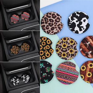 Absorbent Pad Car Accessories Non-Slip Mat Car Cup Mat Drink Coaster Coaster