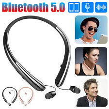 Wireless Bluetooth 5.0 Headphone Sport Neckband Headset HiFi Stereo Earbuds Mic
