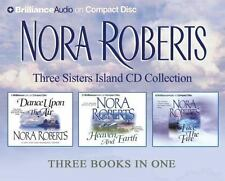Nora Roberts Three Sisters Island Trilogy Series Audio CD Collection