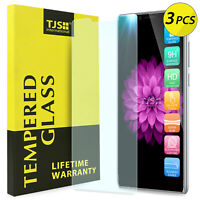 [3-Pack] TJS For Coolpad Legacy Premium Tempered Glass Screen Protector Guard