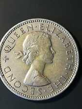 1957 Rhodesia and Nyasaland Two Shillings
