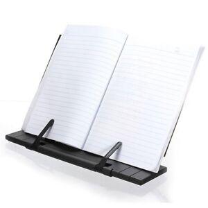Portable  Steel Book Reading Desk Stand Adjustable  Book Document Holder
