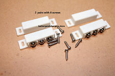 2 Magnetic Reed Switch Normally Open or Closed NC NO Door Alarm Window Security