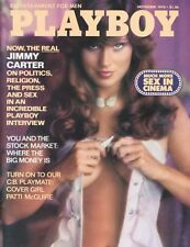 PLAYBOY NOVEMBER 1976 Patti McGuire JimmyCarter MistyRowe VaticanSexManualRCNoCF