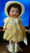 Just me The Vogue Doll company.  2002 all porcelain. 14 nch in yellow SALE