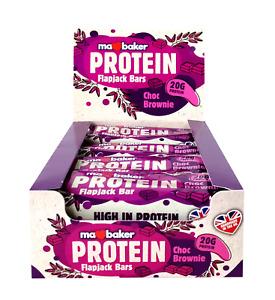Ma Baker Giant Chocolate Brownie Protein Flapjack 90g x20