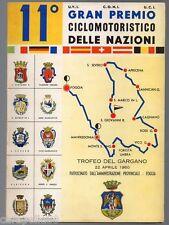 11° GRANPREMIO CICLOMOTORISTICO DELLE NAZIONI Trofeo del Gargano 1960