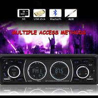 1 Din DAB Car Radio DAB+ RDS AM AUX FM SD Bluetooth Stereo MP3 Player Head Unit