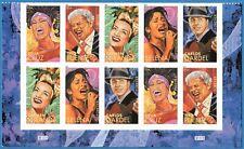 USA Sc. 4501a (44c) Latin Music Legends 2011 MNH plate block of 10