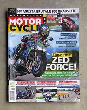 MOTORCYCLE NEWS Feb 2014 AMCN - Z1000 R1200 BMW PANIGALE 1199 DRYSDALE 1000 V8